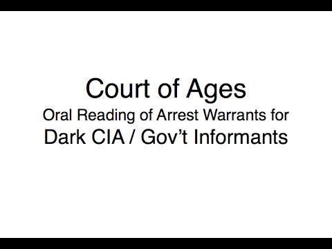 ARREST WARRANT: Dark CIA Gov't Informants — A (names and addresses)