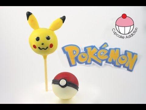 "▶ Make Pokemon Pikachu Cake Pops! A Cupcake Addiction How to Tutorial - YouTube"""