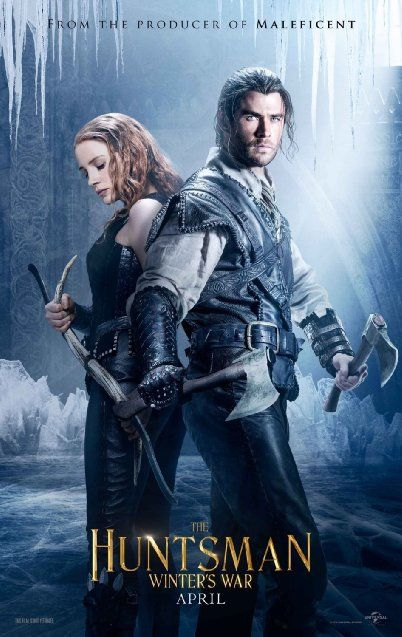 First Look: First Character Posters for 'The Huntsman' Reveal the Chris Hemsworth Spin-Off; Official Title & Synopsis Released