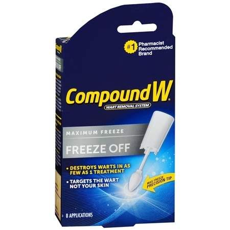 Compound W Freeze Off Wart Removal System - 8 ea