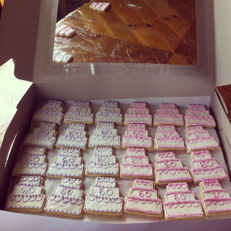 Cookies For A 60th Wedding Anniversary