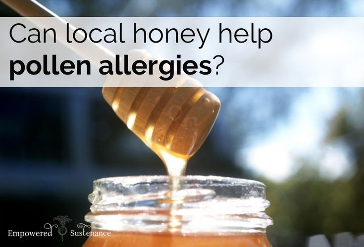 Do you suffer from pollen allergies? Read this article and find out which kind of honey can benefit you. #thewholejourney #twj