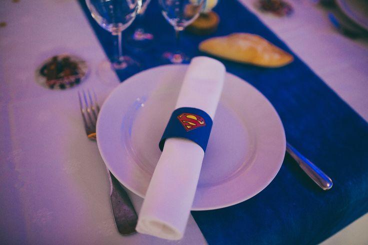Superhelden Hochzeit in Frankreich