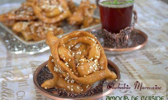 Chebakia marocaine Mkherka Bonjour tout le monde,  Je partage avec vous aujourd'hui un délice de ...