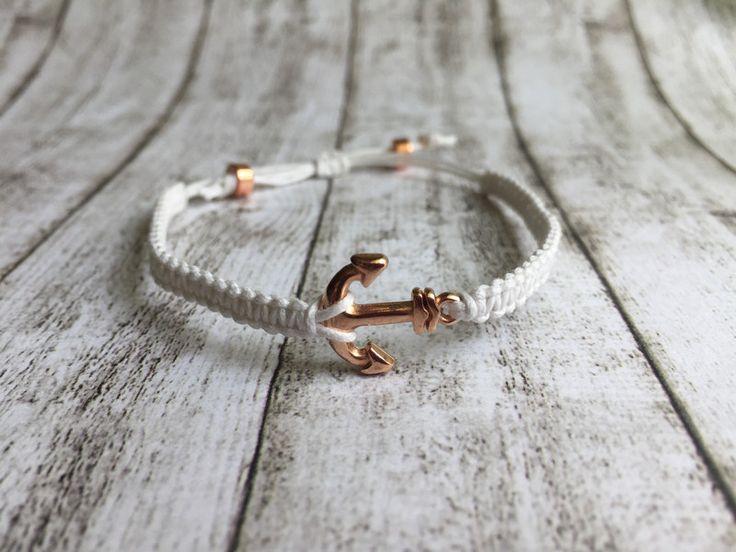 Armbänder - Anker-Armband (Rosegold) - ein Designerstück von WATSON-AND-HOLMES bei DaWanda