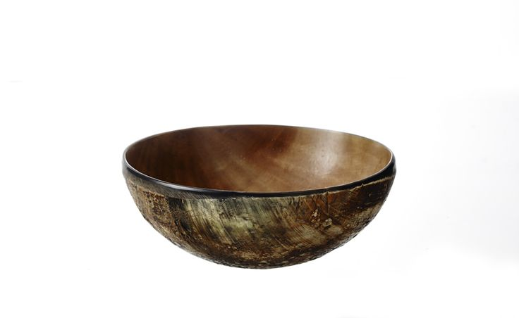 T-5, Smoked horn plate, 15 cm www.thetravellingband.dk