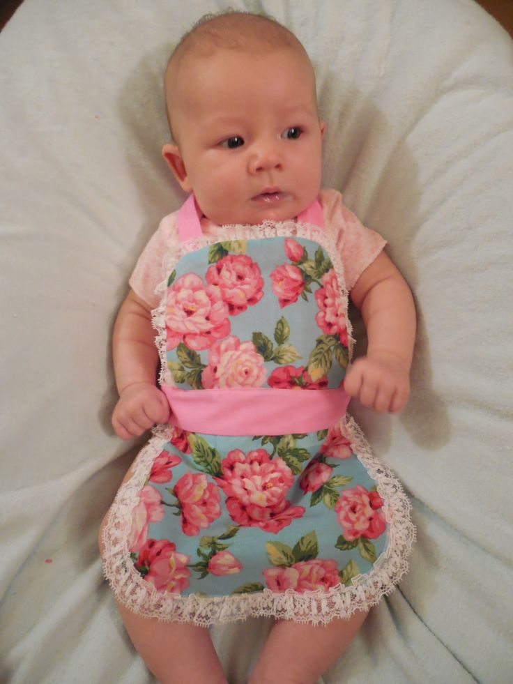 Baby Apron/Bib :)
