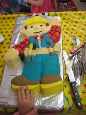 Love this Bob the Builder cake