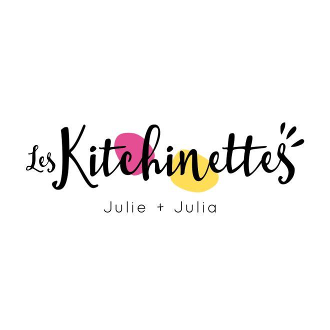 Identité visuelle / Logo les Kitchinettes / Julie Brouillette / Design Graphique