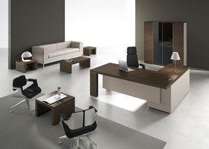 Titano comp.8, Elegant furniture for executive office, modern style