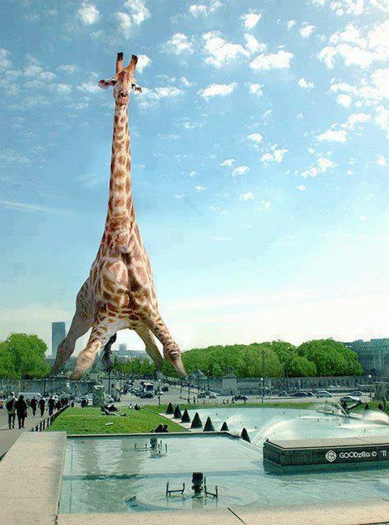 La nueva torre Eiffel.