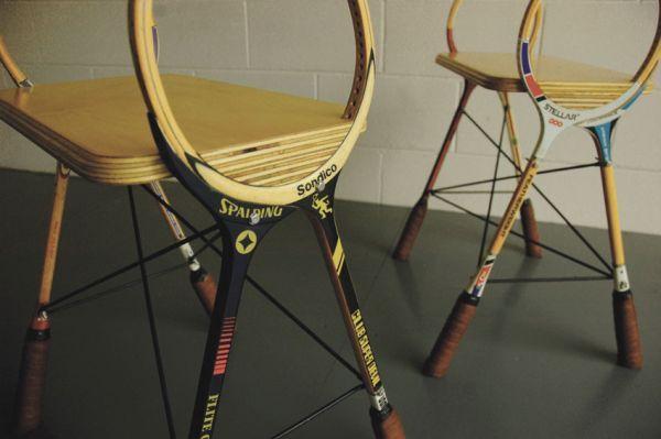 Squash racquet stools