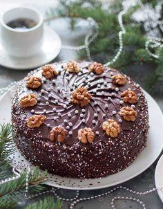 Австрійський Різдвяний горіховий торт : Ням ням за 5 хвилин