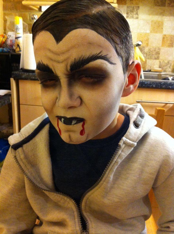 Girl vampire face paint ideas