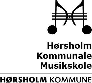 Hørsholm Kommune Musikskole Logo