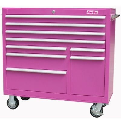 PINK tool box! I love it & this is going on my Christmas list!!!