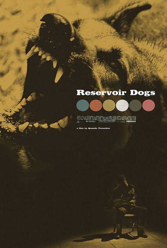 Reservoir Dogs alternative movie poster