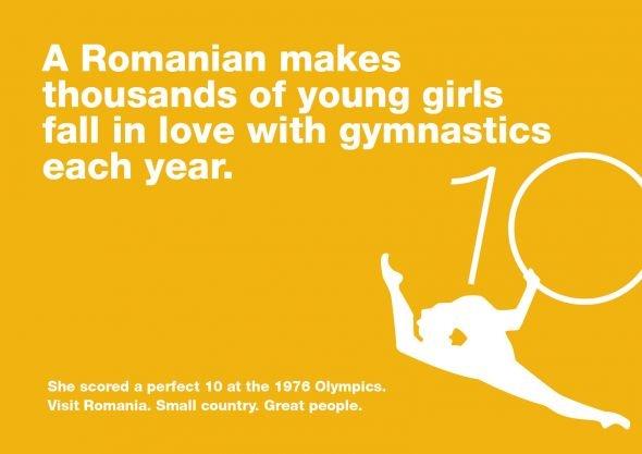 A campaign to promote Romania, signed by Graffiti BBDO Romania