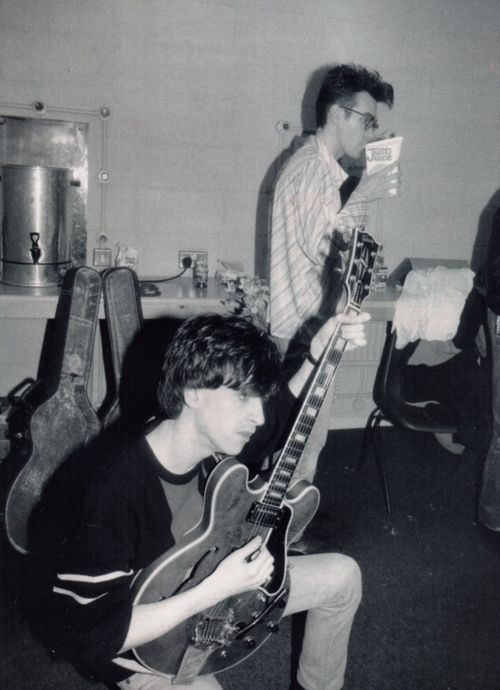 Johnny Maar and Morrissey. #TheSmiths