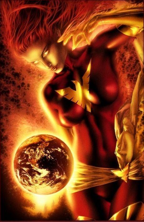 Mystical Dark Phoenix