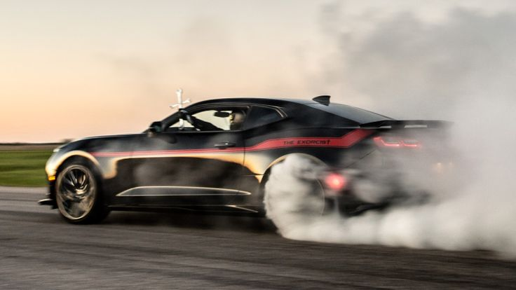 Hennessey's 1,000-horsepower Camaro Exorcist is ready for the Demon - Autoblog