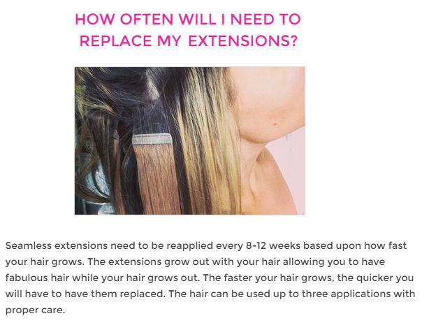 9 best how to care for hair extensions images on pinterest hair questions about seamless hair extensions how to apply tape in hair extensions how to take care of tape in hair extensions how long do tape in hair pmusecretfo Gallery