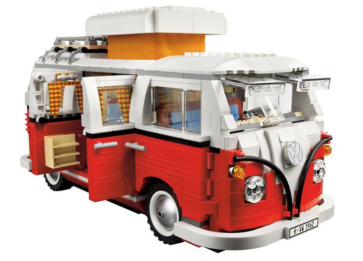 Volkswagen T1 Camper Van - Google Search (http://shop.lego.com/en-US/Volkswagen-T1-Camper-Van-10220) #legos #volkswagen