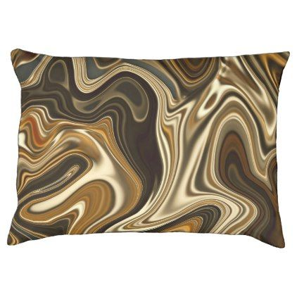 Gorgeous Marble Style - Warm brown Pet Bed - marble gifts style stylish nature unique personalize