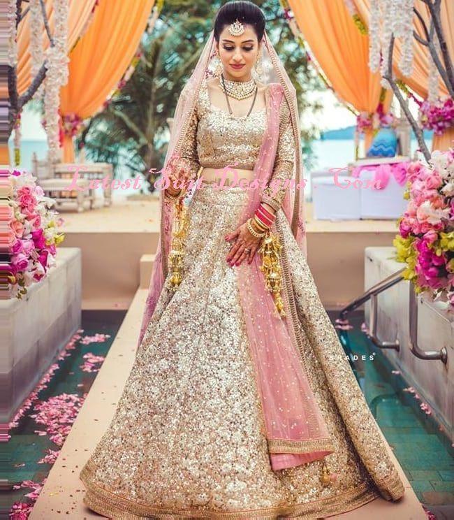 09967e0d460 Latest Stylish Bridal Lehenga Trends In India 2018-2019