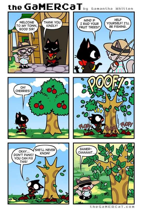 the GaMERCaT :: Cherry-Picked   Tapastic Comics - image 1