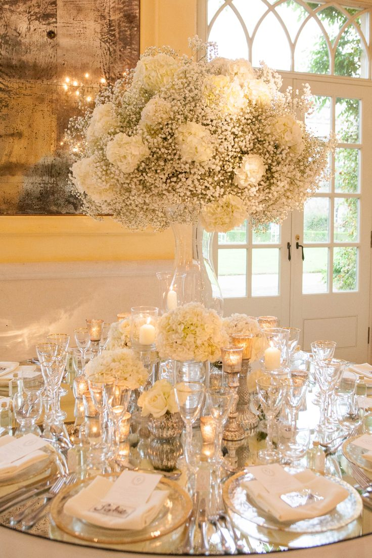 An Incredible Wedding At The Lost Orangery In Colerne White Hydrangeas Gypsophila Baby S