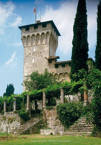 Castello del Trebbio - San Piero a Sieve (Firenze) Mugello #TuscanyAgriturismoGiratola