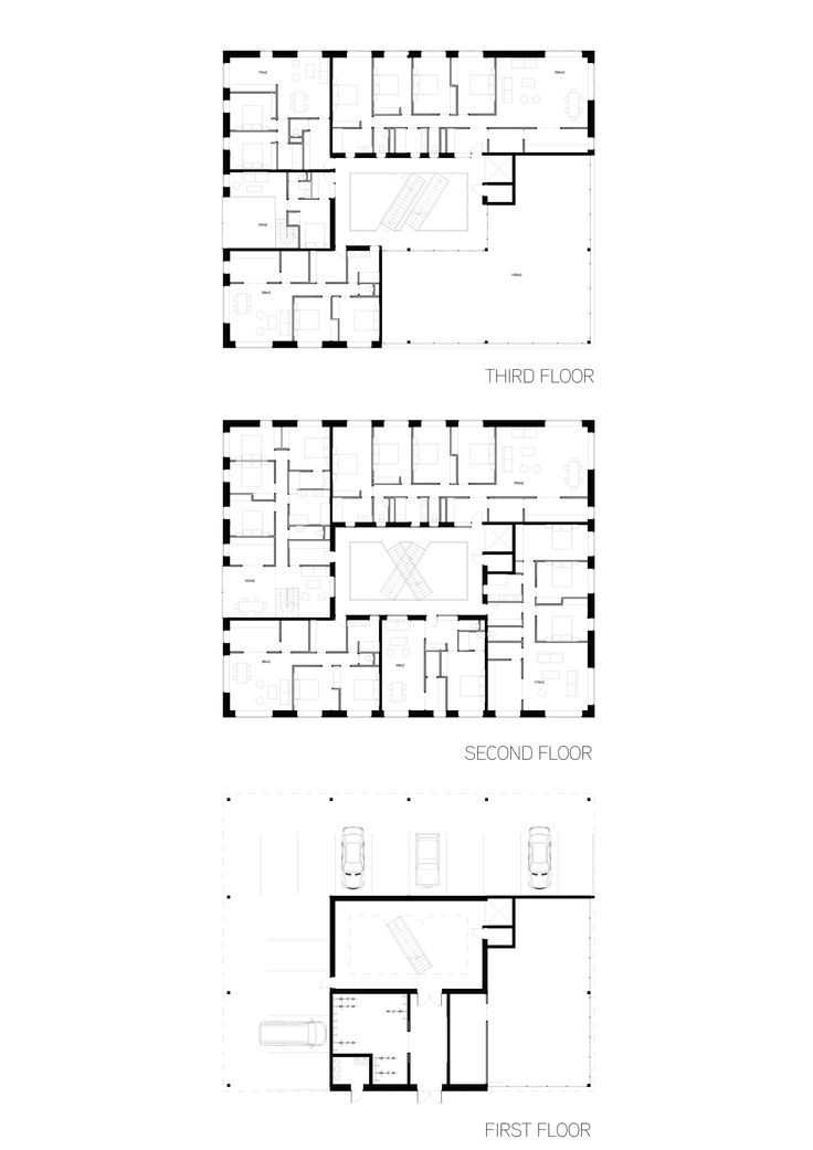 First / Second / Third Floor - Multifamily houses