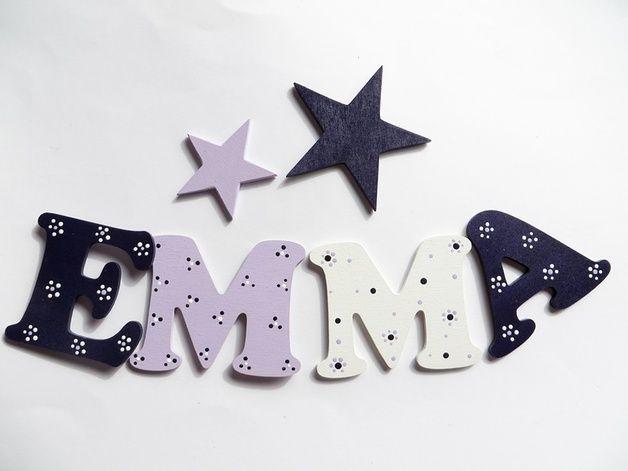 Stunning  In liebevoller Handarbeit angefertigte Buchstaben f r das Kinderzimmer Auf mehrfachen Wunsch fertige ich
