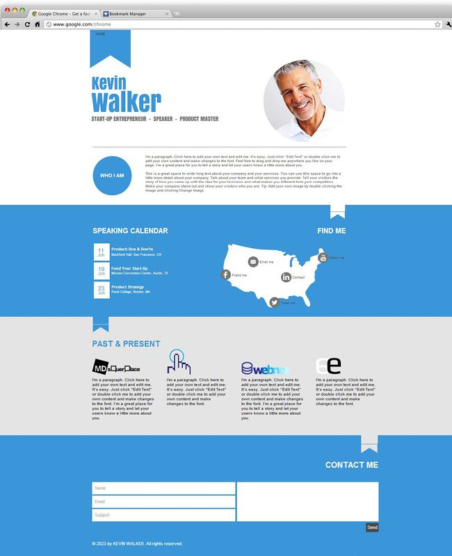 online business website template | Template