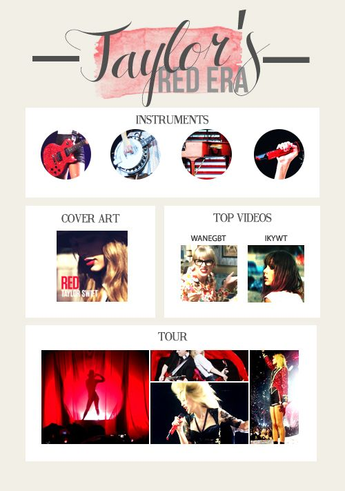Taylor Swift | Red era | RED Tour