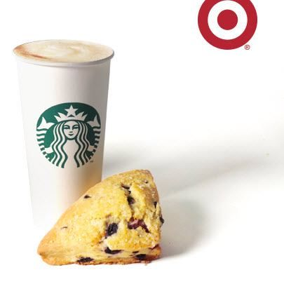 Target: Free Starbucks Pastry- #starbucks #freebie Get a pastry to go with that coffee mamas!