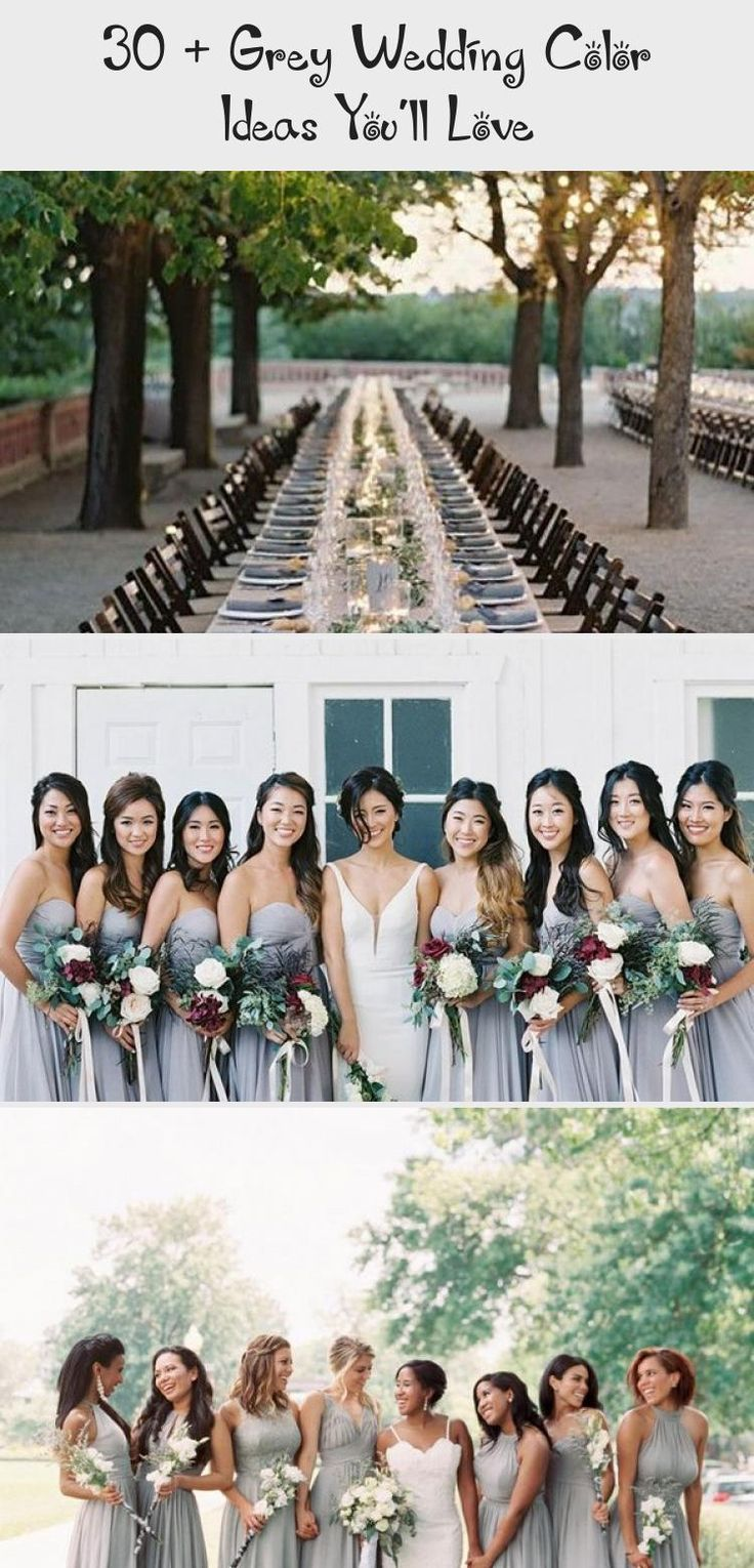 grey mismatched bridesmaid dresses  #wedding #weddings #weddingideas #weddingblog #weddingcolors #himisspuff #BridesmaidDressesPlusSize #BridesmaidDressesPurple #BridesmaidDressesBoho #LavenderBridesmaidDresses #BridesmaidDressesCoral