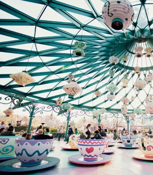 Teacups ride - Disneyland Paris