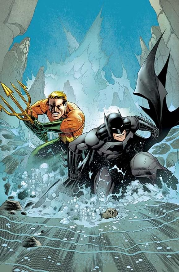 BATMAN AND AQUAMAN #29 Written by PETER J. TOMASI Art and cover by PATRICK GLEASON and MICK GRAY