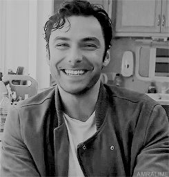 If this doesn't make you smile, nothing will. Aidan Turner Daily