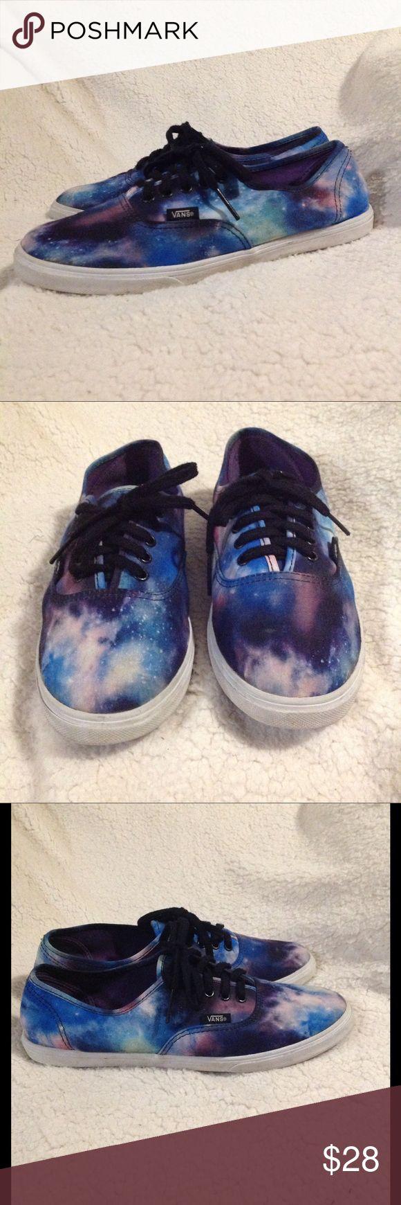 👔 ECU Galaxy Vans UNISEX Excellent condition, Men's 7, women's 8.5 Vans Shoes Sneakers