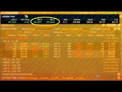 Option trading liquidity