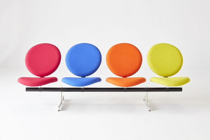 Nienkamper LolliPOP! Tandem seating. Design: Robin Bush, 1960