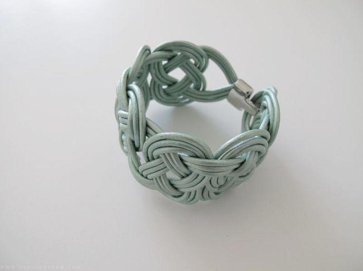 DIY braided bracelet tutorial.