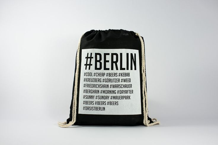 The Berlin's Hashtags - Find it here:  http://www.officineberlinesi.com/shop/classic-gymsacks/berlins-hashtags-gymsack-black/  #backpack #bag #canvasbag #canvastote #beutel #sac #rucksack #mochila #handmade #sacfourre-tout #screenprinting #taschen  #berlin #funny #beers #music #nightlife