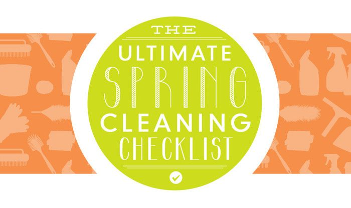BrightNest | The Ultimate Spring Cleaning Checklist