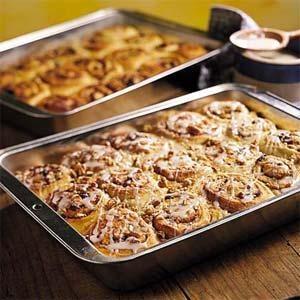 Sweet Cinnamon Buns!: Cinnamon Breakfast, Myrecipes Com, Recipe Breakfast, Cinnamon Rolls, Vanilla Cakes Mixed, French Vanilla Cakes, Rolls Recipe, Breakfast Brunch, Breakfast Rolls