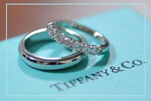 Tiffany, argollas de matrimonio