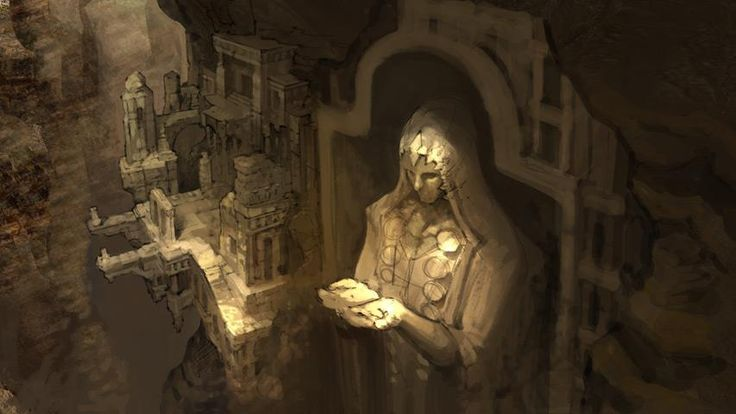 World Setting Concept   Video Games Artwork